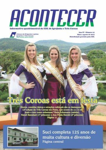 revista site – maio agosto - CDL – Igrejinha e Três Coroas
