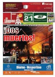 Gigantesco incendio en Barrio Boliviano: 60 ... - Diario 21