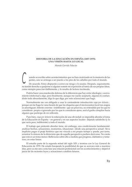 Historia De La Educacion En Espana 1857 1975 Una