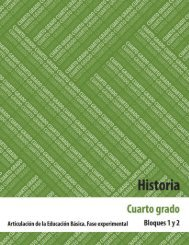 Historia 4 - Secretaría de Educación de Chiapas