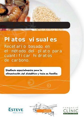 Platos visuales - Diabetes a la carta