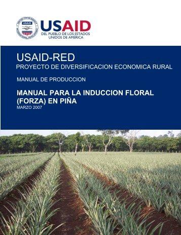 manual para la induccion floral (forza) en piña - Fintrac Inc.