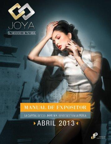 manual del expositor - Expo joya