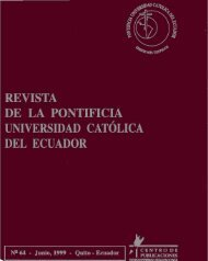Revista 64.pdf - Pontificia Universidad Católica del Ecuador
