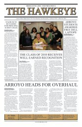 ARROYO HEADS FOR OVERHAUL - The Hawkeye