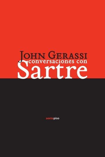 Conversaciones con Sartre - contexto de editores