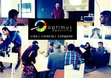 crea | conecta | comparte - OPTIMUS coworking