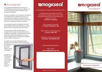 ¿Por qué MagicSeal? Soluciones inteligentes