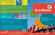 Software LIbre PrImeroS auXILIoS - BrainStorm Formacion