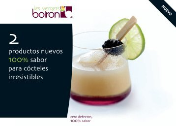productos nuevos 100% sabor para cócteles irresistibles - Les ...