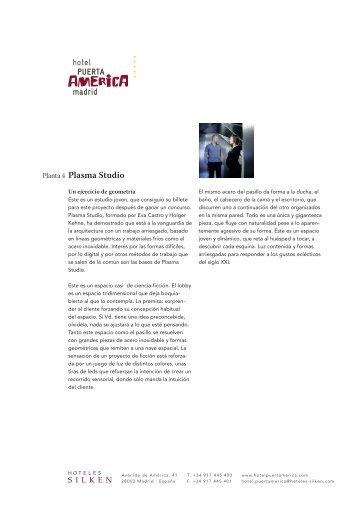 Planta 4 Plasma Studio - Hoteles SILKEN