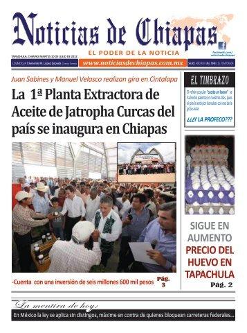 La 1ª Planta Extractora de Aceite de Jatropha Curcas del país se ...