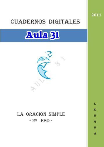La oración simple – 2º ESO