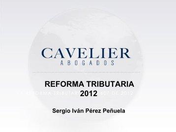 Reforma Tributaria 2012 - Fenalco Antioquia
