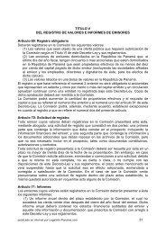 titulo v - Legal Info Panamá