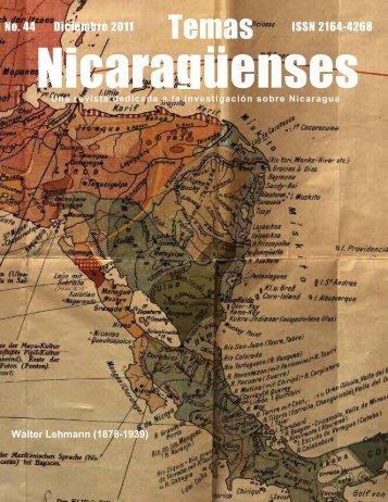 44 - Revista de Temas Nicaragüenses
