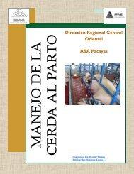 Manual de Cerdas en Parto. MAG Pacayas 2010 - InfoAgro