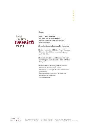 Dossier Prensa Espanol - Hoteles SILKEN