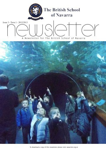 A Newsletter for The British School of Navarra
