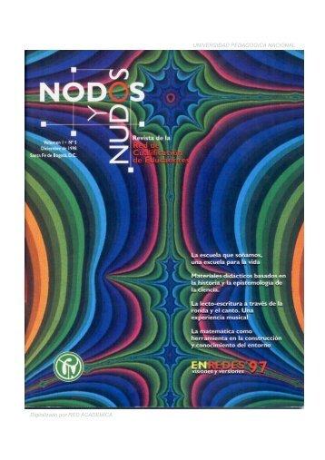 UNIVERSIDAD PEDAGOGICA NACIONAL Digitalizado por RED ...