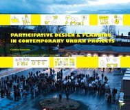 PARTICIPATIVE DESIGN & PLANNING IN CONTEMPORARY URBAN PROJECTS