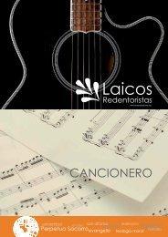 Cancionero - Misioneros Redentoristas