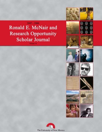 2008 mcnair_rop journal.pub - University of New Mexico