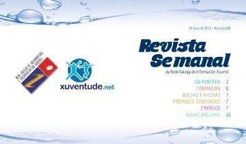 Boletín 18/07/2011 - Xuventude.net - Xunta de Galicia