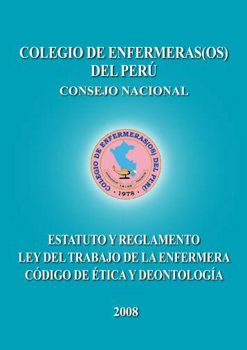Estatuto y reglamento - CEP :: Consejo Regional IV - Junin