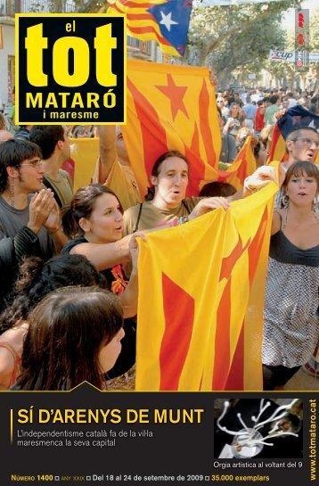 SÍ D'ARENYS DE MUNT - El Tot Mataró i Maresme