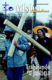 DISTRIBUCION GRATUITA - Misioneros Columbanos