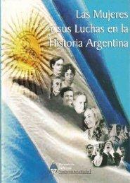 Las Mujeres y sus Luchas en la Historia Argentina - Ministerio de ...