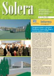 Revista nº 19 - Instituto Aragonés de Servicios Sociales - Gobierno ...