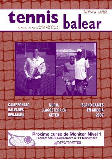 CAMPEONATO - Federació de Tennis de les Illes Balears