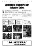 CAMPEONATO - Federació de Tennis de les Illes Balears - Page 6