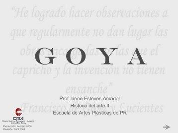 Francisco Goya y Lucientes - CITA