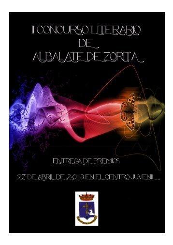 relatos premiados - Ayuntamiento de Albalate de Zorita