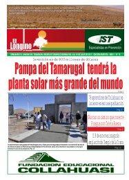 Buscan un camino que conecte Pisagua con ... - Diario Longino