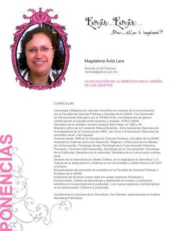 Magdalena Ávila Lara - proyectos academicos ulsa mexico ...