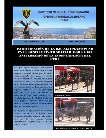 oficina regional altiplano puno participación de la or altiplano puno ...