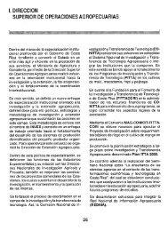 i. direccion superior operaciones agropecuarias - Ministerio de ...