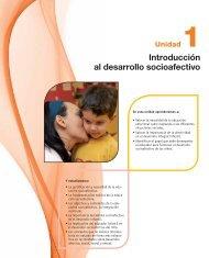 Introducción al desarrollo socioafectivo - McGraw-Hill