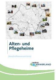 Alten- und Pflegeheime - Landkreis Ammerland