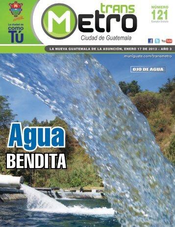 NÚMERO OJO DE AGUA - Transmetro - Municipalidad de Guatemala