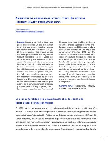 Ambientes de Aprendizaje Intercultural Bilingüe de Calidad
