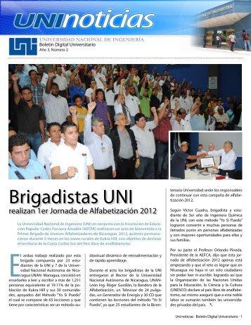Boletin 2 2012 - Universidad Nacional de Ingeniería