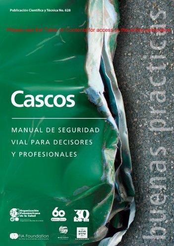 manual de seguridad vial para decisores y profesionales