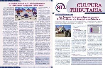 Año 1 - Número 2 - La Paz, Agosto de 2007 - Autoridad de ...