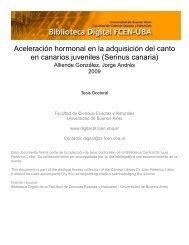 Aceleración hormonal de la adquisición de canto en canarios
