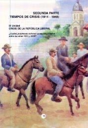 Unidad 9 - Crisis de la república liberal.